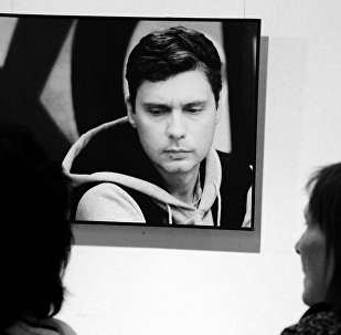 Le photographe Andreï Stenine
