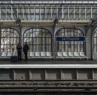 Station la Chapelle, Paris