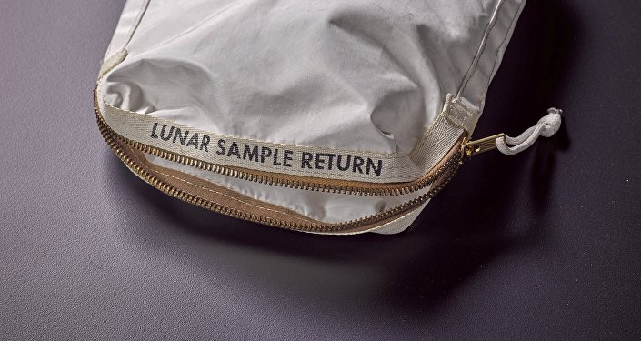 An Apollo 11 Contingency Lunar Sample Return Bag