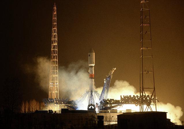 Lancement d'une fusée Soyouz-2.1b depuis le cosmodrome de Plessetsk