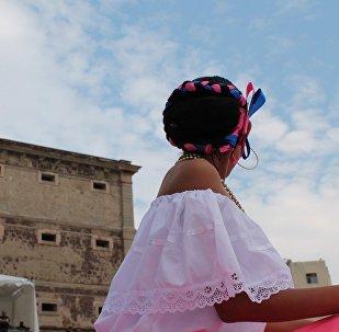 La jeune Mexicaine