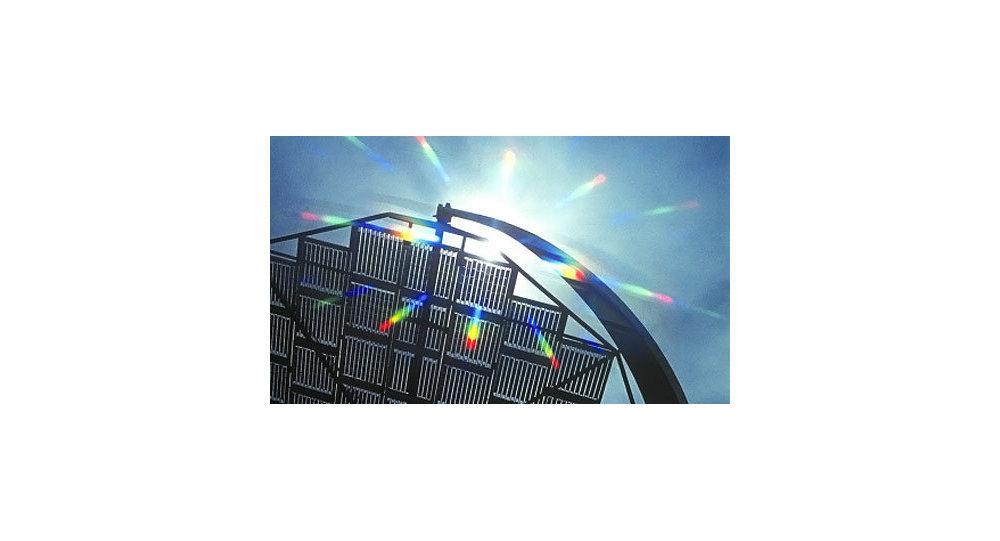 la plus grande centrale solaire d 39 europe s ouvre en allemagne sputnik france. Black Bedroom Furniture Sets. Home Design Ideas