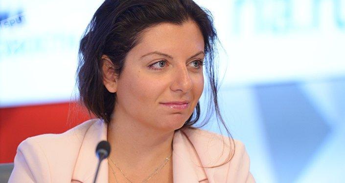 La rédactrice en chef de RT et Sputnik Margarita Simonian