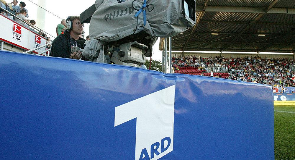 Logo de la chaîne ARD. Archive photo