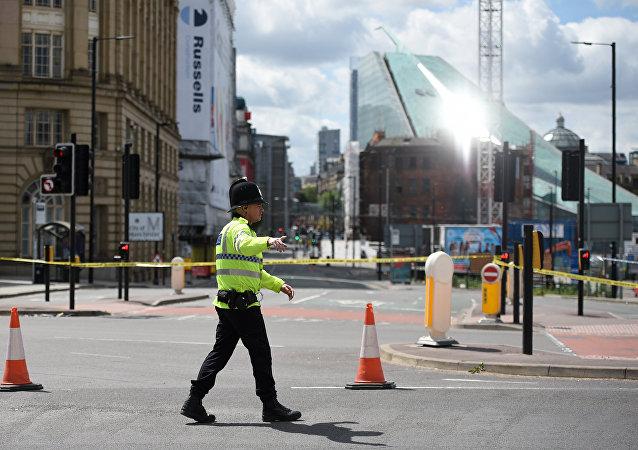 Un policier de Manchester