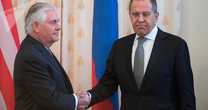 Lavrov et Tillerson