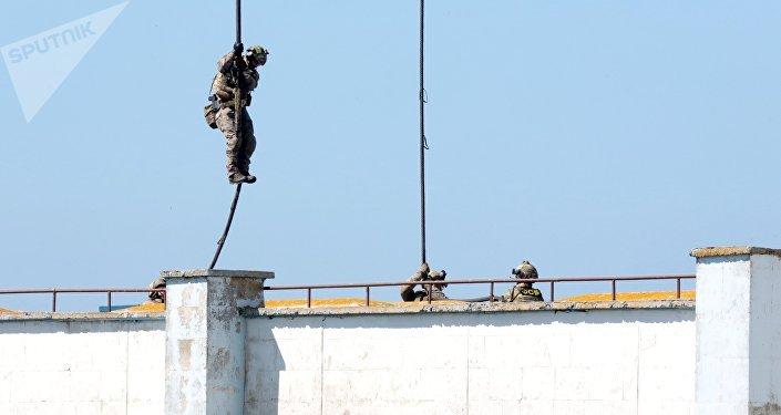 Exercices  russe en Crimée