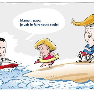 Au terme du G7, Merkel en conclut que l'Europe doit prendre son destin en main