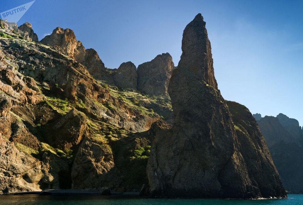 Le site classé du Karadag en Crimée