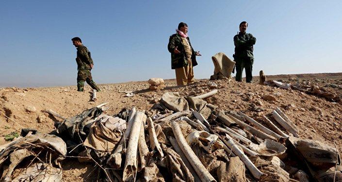 Une fosse commune découverte en Irak