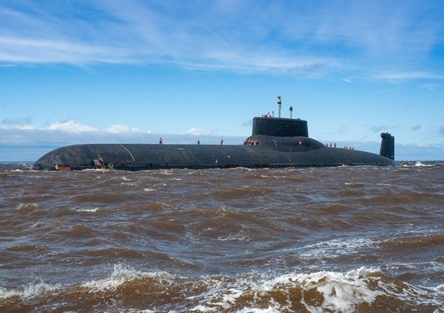 Le sous-marin russe Dmitri Donskoï