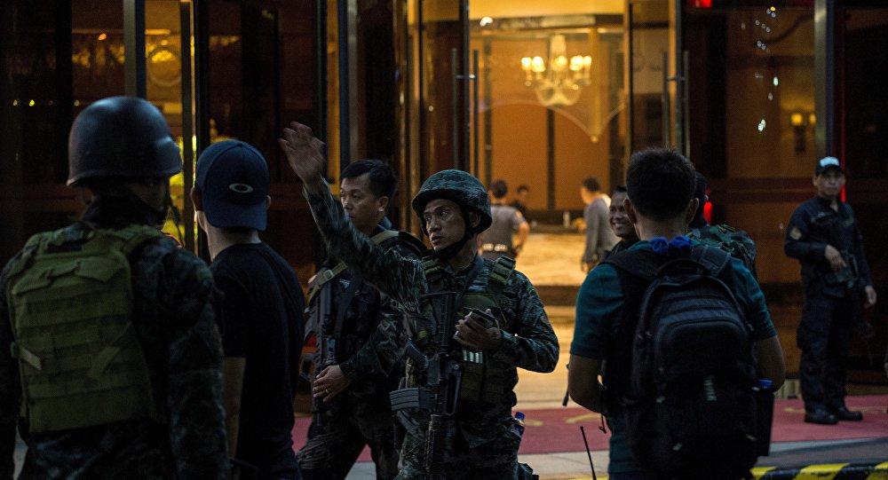Attaque contre un casino à Manille