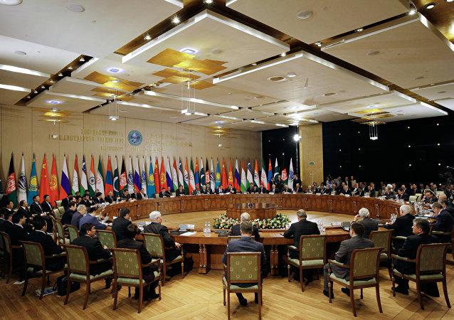 Réunion du Conseil des chefs d'Etat de l'OCS