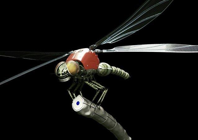 Un drone libellule. Image d'illustration