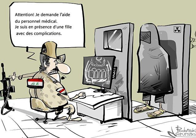 Le port du voile intégral interdit dans les quartiers libérés de Mossoul