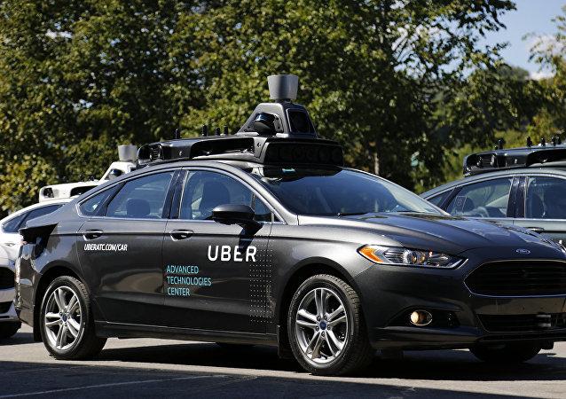 voiture autonome d'Uber