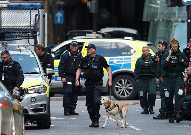 La police publie des photos des fausses ceintures d'explosifs des terroristes de Londres