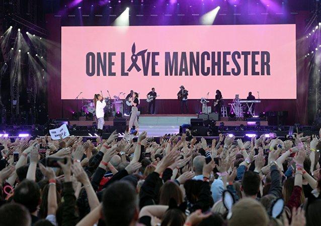 Concert de commémoration des victimes de l'attentat de Manchester