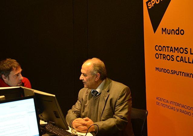 L'ambassadeur palestinien en Uruguay, Walim Abdel Rahim