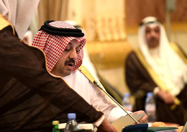 Le ministre des Affaires étrangères du Qatar