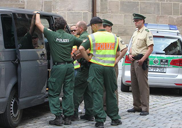 La police de Bavière