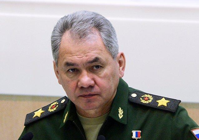 Sergueï Choïgou, ministre russe de la Défense