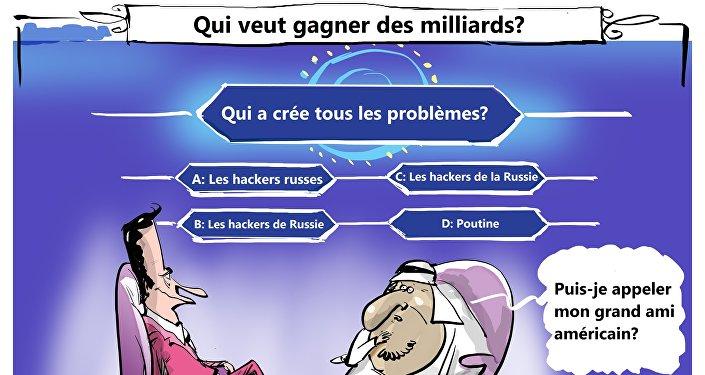 Crise autour du Qatar? La faute aux hackers russes, bien sûr!