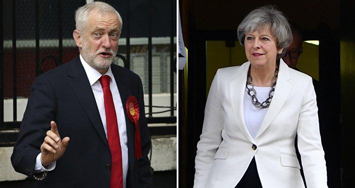 Jeremy Corbyn / Theresa May