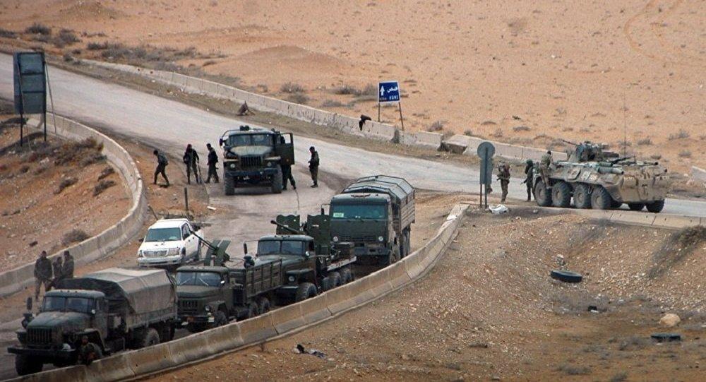 Damas reprend trois localités et un champ gazier près de Palmyre