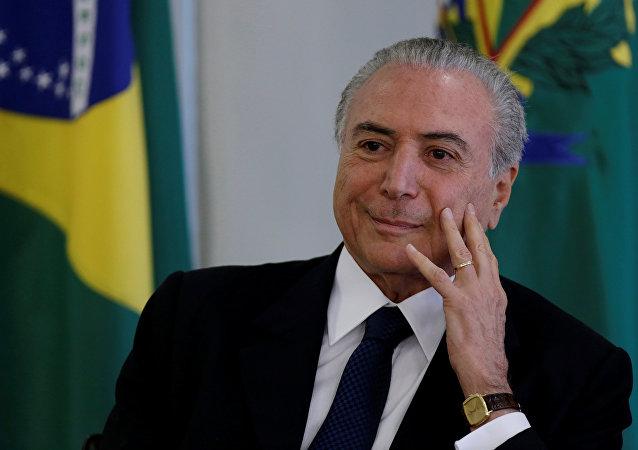 Ex-Président brésilien Michel Temer
