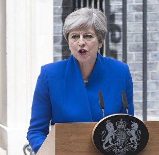 Thérésa May, la Première ministre du Royaume-Uni