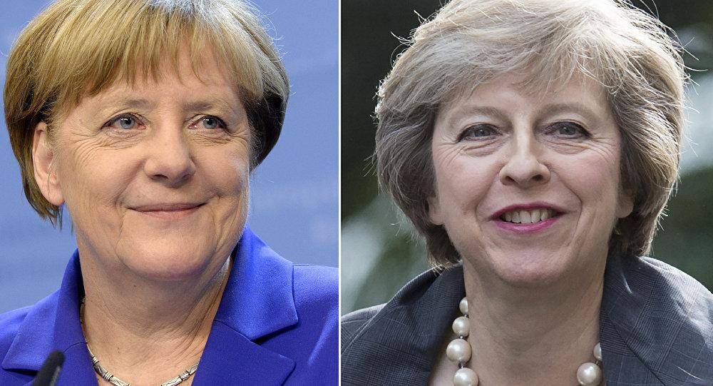 May rassure Merkel, le Brexit ne sera pas retardé