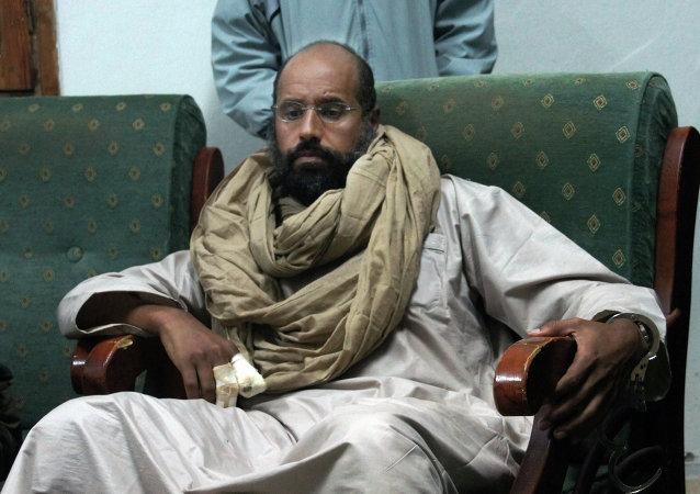 Seif al-Islam, hijo de Gadafi (archivo)