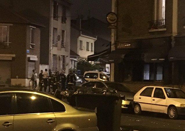 Un jet de cocktail Molotov provoque un incendie à Aubervilliers, 4 blessés