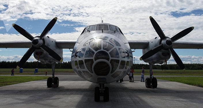 Un Antonov An-30.