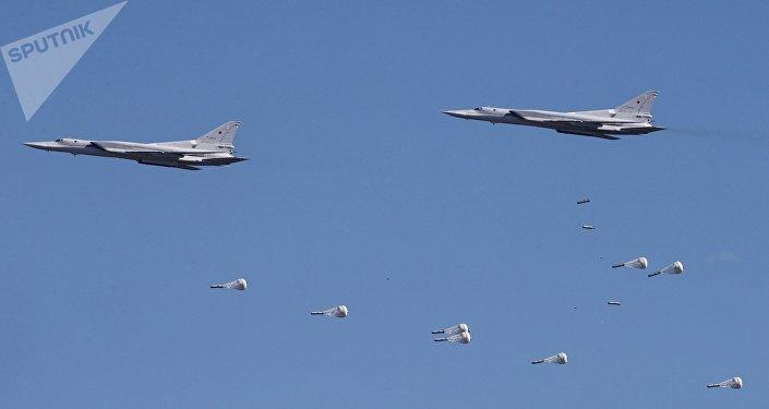 Les bombardiers stratégiques Tu-22 M3 lors du tournoi Avadarts-2017