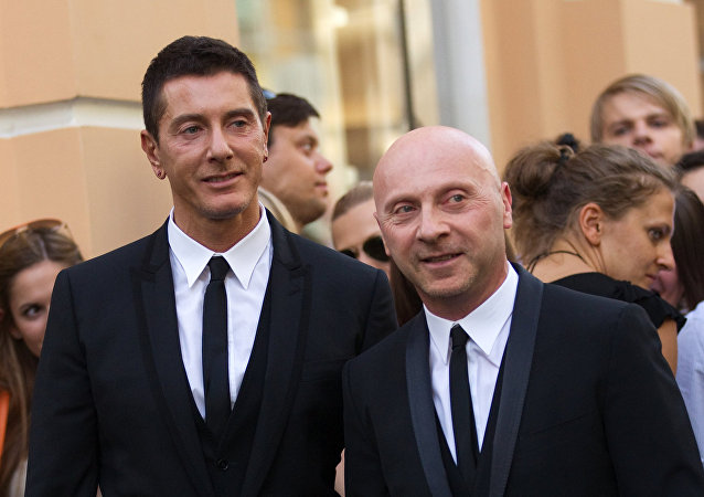 Открытие бутика Dolce & Gabbana в Москве