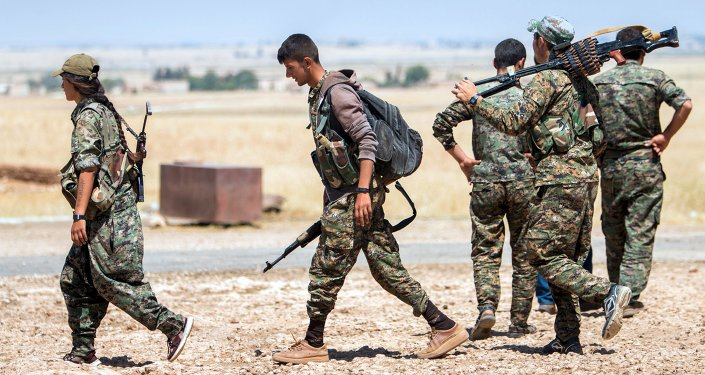 Des combattants des Unités de protection du peuple (YPG) kurdes (image d'illustration)