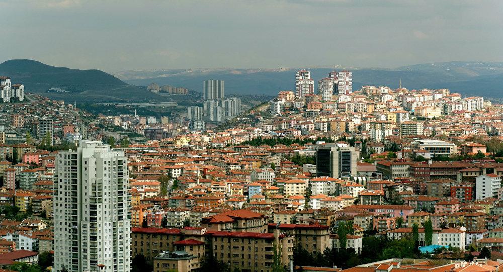Une vue d'Ankara
