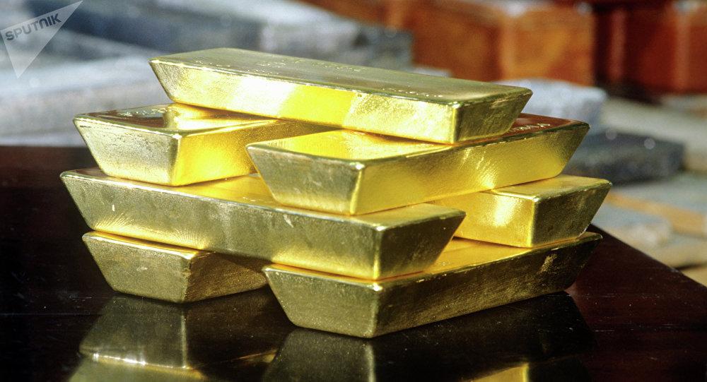 Des lingots d'or