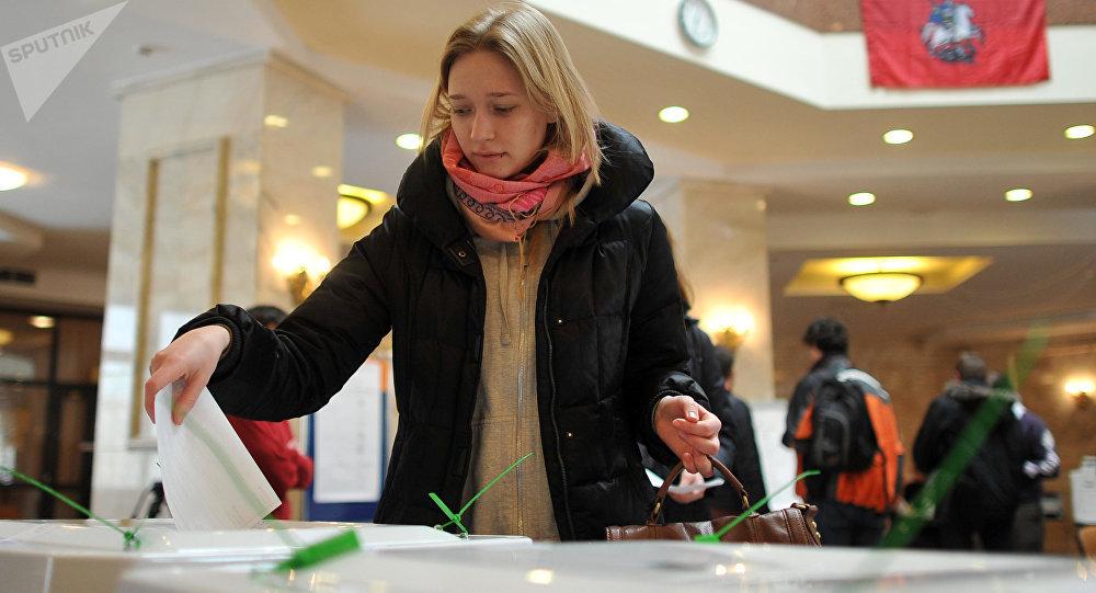 Выборы президента РФ в Москве
