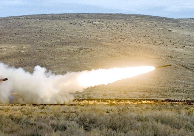 Un tir d'artillerie