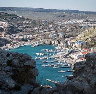 La baie de Balaklava en Crimée