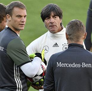 Équipe allemande de foot en Russie: bonnes conditions et excellent terrain d'entraînement