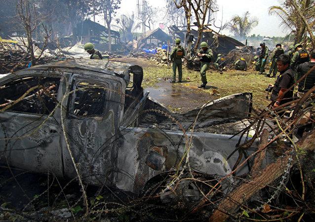 Explosion en Thaïlande: six militaires tués, quatre autres blessés