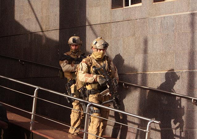 Forces de l'ordre irakiennes