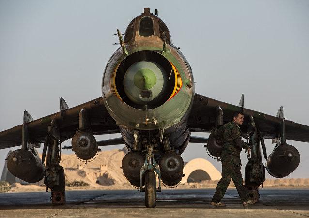 Su-22 syrien