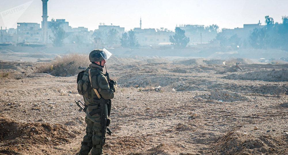 Un démineur russe en Syrie