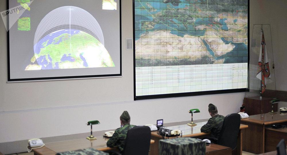 Une station radar antimissile russe