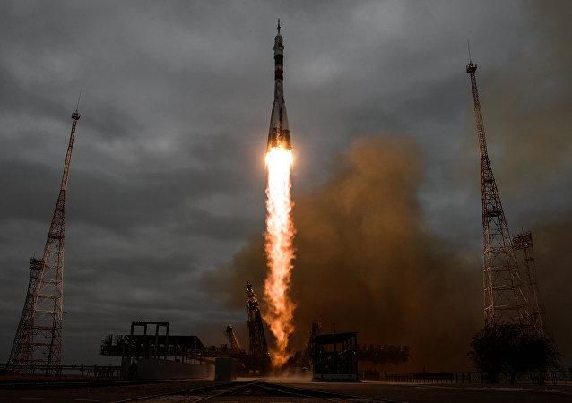 Le Soyouz MS-02 s'arrimera vendredi à l'ISS